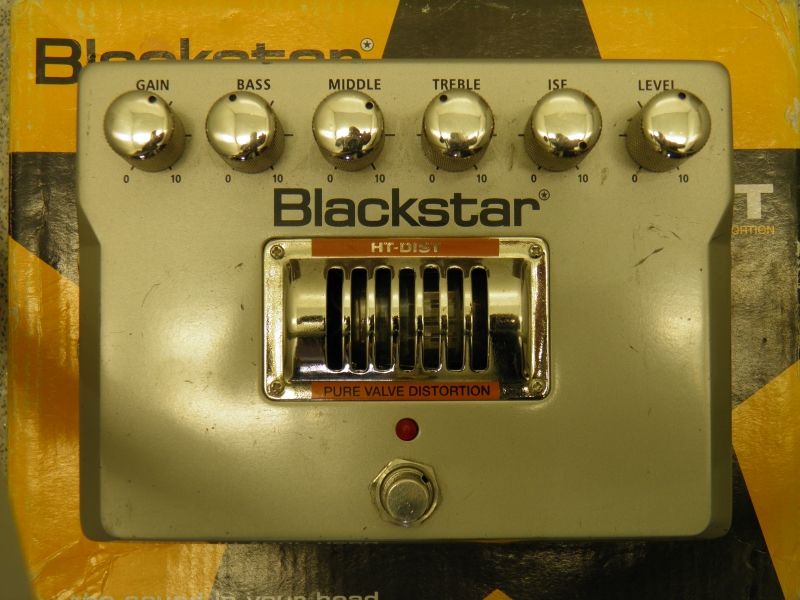 Blackstar HT-Dist Distortion Pedal - Top