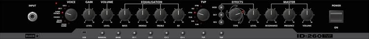 Blackstar ID 260TVP_Controls