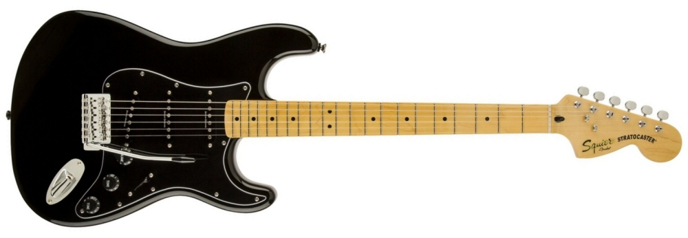 Squier Vintage Modified '70s Stratocaster [Black]