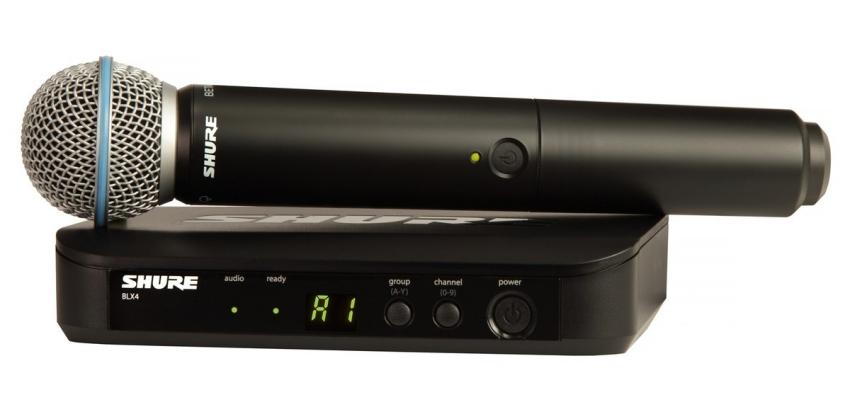 Shure BLX24/B58A Wireless System