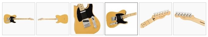 Fender Player Telecaster Butterscotch Blonde with Maple Neck
