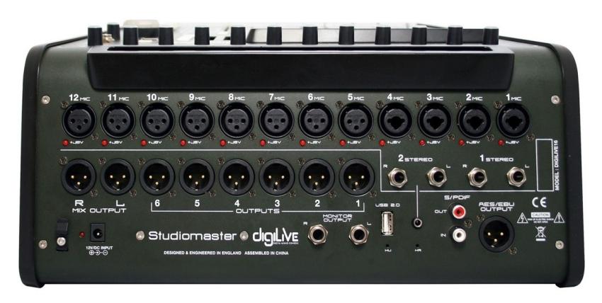 Studiomaster Digilive