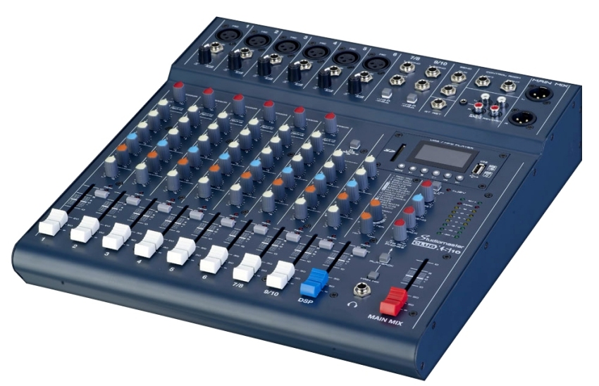 Studiomaster X10 Mixing Console