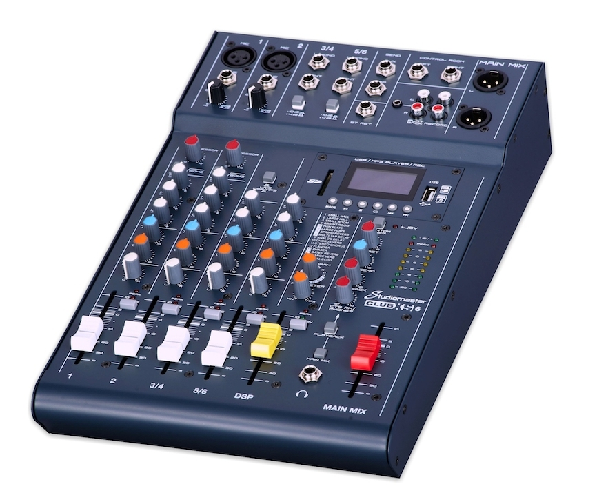Studiomaster XS6 Mixing Console