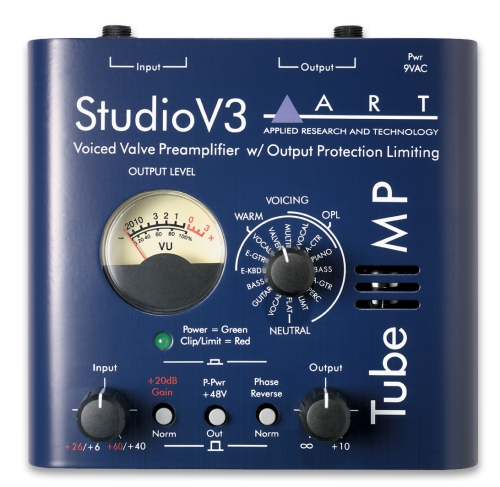 ART Studio V3 Voiced Valve Preamp
