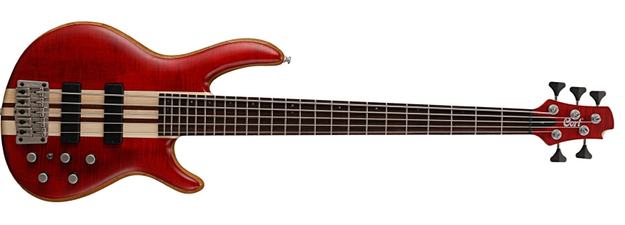 Cort A5 Plus FMMH 5 String Bass Guitar