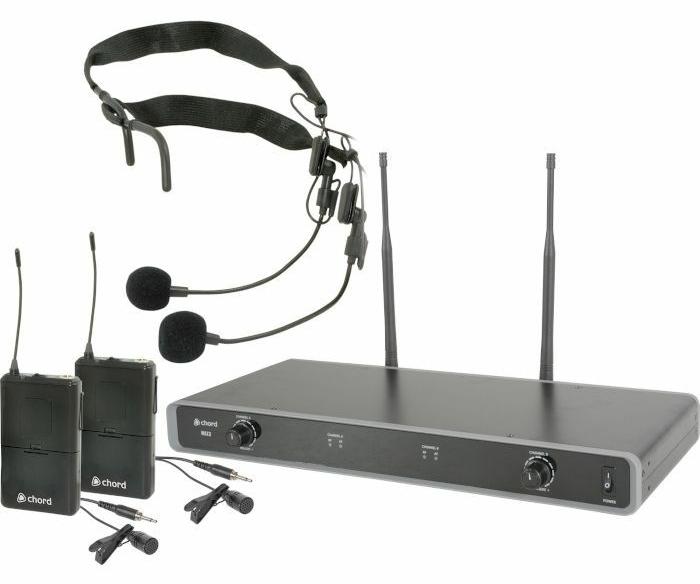 Chord NU2 Headband/Lavalier System
