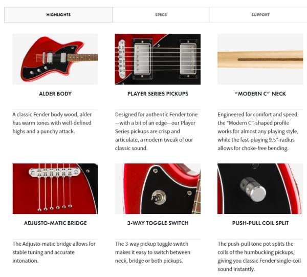 Fender Player Series Meteora HH