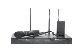 Chord NU2 Dual UHF Neckband & Handheld System
