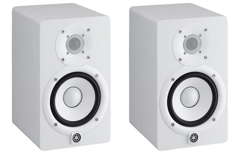 Yamaha HS5 White Studio Monitors