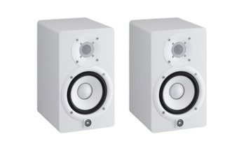 Yamaha HS5 White Studio Monitors