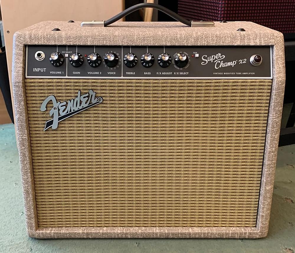 Fender Super Champ X2 Fawn