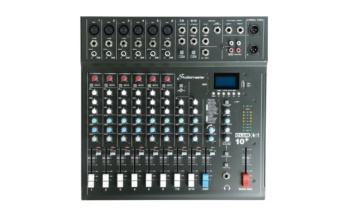 Studiomaster XS10+ (10 Channel Mixer)