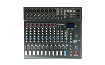 Studiomaster XS12+ (12 Channel Mixer)