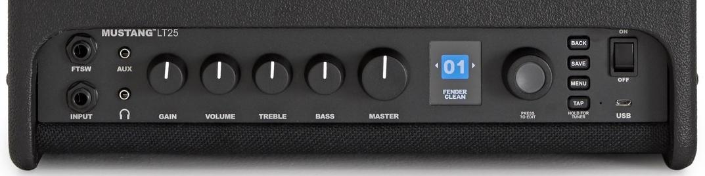 Fender Mustang LT25 Controls